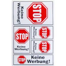 stopwerbung